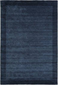 Handloom Frame - Azul Oscuro Alfombra 300X400 Moderna Azul Oscuro/Azul Grande (Lana, India)