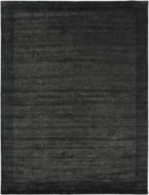 Handloom Frame - Black/Dark Grey Rug 300X400 Modern Dark Grey/Dark Green Large (Wool, India)