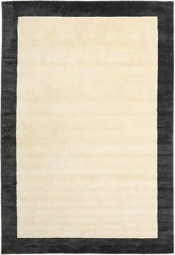 Handloom Frame - Black/White Rug 300X400 Modern Beige/Dark Grey Large (Wool, India)