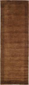 베틀 Frame - 갈색 러그 80X250 모던 복도용 러너 다크 브라운/브라운 (울, 인도)