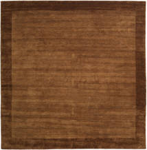 Handloom Frame - Brown Rug 300X300 Modern Square Brown/Dark Brown Large (Wool, India)