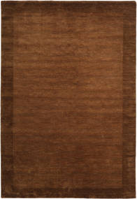 Handloom Frame - Brown Rug 300X400 Modern Brown/Dark Brown Large (Wool, India)