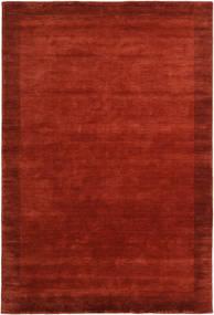 Handloom Frame - Ruoste Matto 300X400 Moderni Ruoste/Tummanpunainen Isot (Villa, Intia)