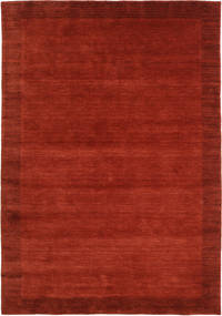 Handloom Frame - Rust Rug 160X230 Modern Rust Red/Dark Red (Wool, India)