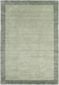 Handloom Frame - Grey/Green Rug 160X230 Modern Light Green/Pastel Green (Wool, India)