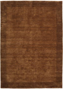 Handloom Frame - Brown Rug 160X230 Modern Brown/Dark Brown (Wool, India)