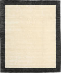 Handloom Frame - Black/White Rug 250X300 Modern Beige/Dark Grey Large (Wool, India)