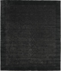 Handloom Frame - Black/Dark Grey Rug 250X300 Modern Black Large (Wool, India)