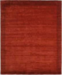 Handloom Frame - Rost Matta 250X300 Modern Roströd/Mörkröd Stor (Ull, Indien)