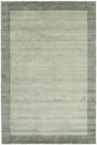 Handloom Frame - Grey/Green Rug 200X300 Modern Light Green/Pastel Green (Wool, India)