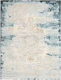 Alaska - Light Blue/Cream Rug 240X300 Modern Light Grey/Dark Beige ( Turkey)