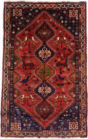Sziraz Dywan 171X265 Orientalny Tkany Ręcznie Ciemnoczerwony/Rdzawy/Czerwony (Wełna, Persja/Iran)
