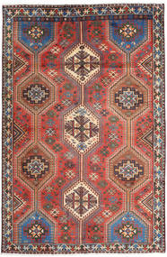 Shiraz Rug 163X248 Authentic Oriental Handknotted Brown/Light Brown (Wool, Persia/Iran)