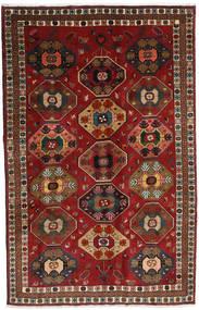Ghashghai Tappeto 170X269 Orientale Fatto A Mano Rosso Scuro/Marrone Scuro (Lana, Persia/Iran)