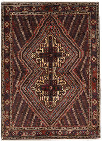 Afshar Shahre Babak Rug 142X196 Authentic  Oriental Handknotted Dark Red/Light Brown (Wool, Persia/Iran)