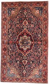 ジョザン 絨毯 128X224 オリエンタル 手織り 深緑色の/錆色 (ウール, ペルシャ/イラン)