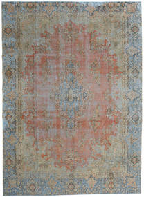 Vintage Heritage Rug 270X376 Authentic  Modern Handknotted Light Brown/Dark Grey Large (Wool, Persia/Iran)