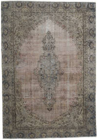 Vintage Heritage Matto 241X349 Moderni Käsinsolmittu Tummanharmaa/Vaaleanruskea/Vaaleanharmaa (Villa, Persia/Iran)