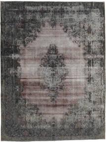 Vintage Heritage Teppich  260X347 Echter Moderner Handgeknüpfter Dunkelgrau/Hellgrau Großer (Wolle, Persien/Iran)