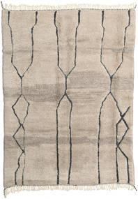 Berber Moroccan - Beni Ourain Tapis 214X294 Moderne Fait Main Marron Clair (Laine, Maroc)