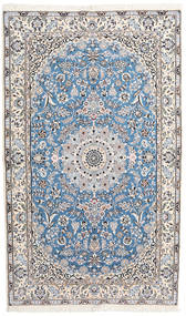 Nain 9La Matto 155X263 Itämainen Käsinsolmittu Valkoinen/Creme/Beige (Villa/Silkki, Persia/Iran)