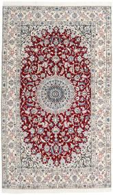 Nain 9La Alfombra 153X260 Oriental Hecha A Mano Beige/Blanco/Crema (Lana/Seda, Persia/Irán)