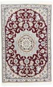 Nain 9La Dywan 88X132 Orientalny Tkany Ręcznie Biały/Creme/Beżowy (Wełna/Jedwab, Persja/Iran)