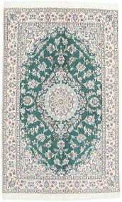 Nain 9La Matto 130X203 Itämainen Käsinsolmittu Beige/Valkoinen/Creme (Villa/Silkki, Persia/Iran)