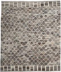 Kilim Ariana Rug 260X300 Authentic  Modern Handwoven Dark Grey/Light Grey Large (Wool, Afghanistan)