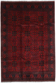 Afghan Khal Mohammadi Rug 205X293 Authentic  Oriental Handknotted Dark Red (Wool, Afghanistan)