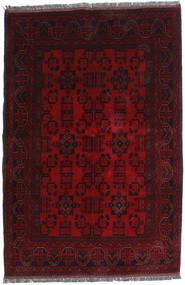Afghan Khal Mohammadi Rug 130X196 Authentic  Oriental Handknotted Dark Brown/Dark Red (Wool, Afghanistan)