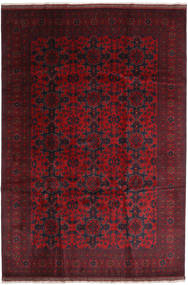 Afghan Khal Mohammadi Rug 203X295 Authentic  Oriental Handknotted Dark Red (Wool, Afghanistan)