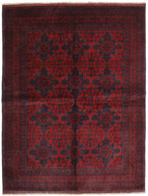 Afghan Khal Mohammadi Teppe 179X232 Ekte Orientalsk Håndknyttet Mørk Rød (Ull, Afghanistan)
