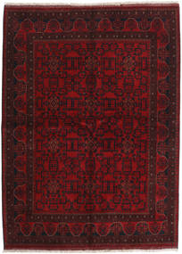 Afghan Khal Mohammadi Rug 175X238 Authentic  Oriental Handknotted Dark Red (Wool, Afghanistan)