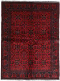 Afghan Khal Mohammadi Matta 174X231 Äkta Orientalisk Handknuten Mörkröd/Mörkbrun (Ull, Afghanistan)