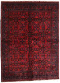 Afghan Khal Mohammadi Teppe 173X229 Ekte Orientalsk Håndknyttet Mørk Rød (Ull, Afghanistan)