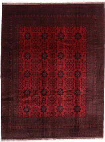 Afghan Khal Mohammadi Vloerkleed 254X344 Echt Oosters Handgeknoopt Donkerrood/Rood Groot (Wol, Afghanistan)