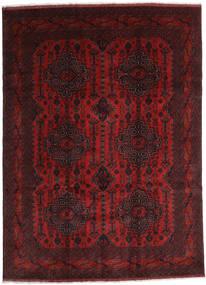 Afghan Khal Mohammadi Teppe 245X338 Ekte Orientalsk Håndknyttet Mørk Rød/Mørk Brun (Ull, Afghanistan)