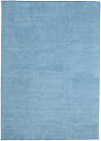 Handloom Fringes - Secondary Rug 250X350 Modern Light Blue Large (Wool, India)