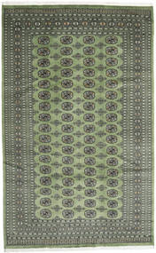 Pakistan Bokhara 2Ply Rug 203X325 Authentic Oriental Handknotted Olive Green/Dark Grey (Wool, Pakistan)