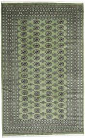 Pakistan Bokhara 2Ply Matto 203X325 Itämainen Käsinsolmittu Oliivinvihreä/Tummanharmaa (Villa, Pakistan)