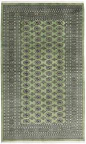 Pakistan Bokhara 2Ply Vloerkleed 199X329 Echt Oosters Handgeknoopt Olijfgroen/Donkergrijs/Lichtgrijs (Wol, Pakistan)