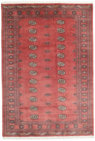 Pakistan Bokhara 3Ply Rug 167X244 Authentic Oriental Handknotted Rust Red/Dark Beige (Wool, Pakistan)