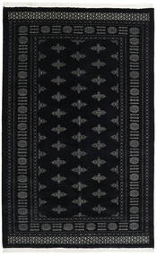 Pakistan Bokhara 3Ply Rug 156X248 Authentic  Oriental Handknotted Dark Blue/Dark Grey (Wool, Pakistan)