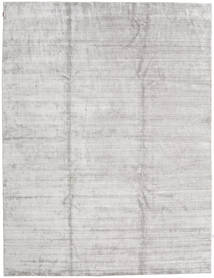 Bamboo Jedwab Handloom - Drugi Gatunek Dywan 300X400 Nowoczesny Jasnoszary/Beżowy Duży ( Indie)