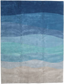 Feeling Handtufted - Secondary Rug 300X400 Modern Light Grey/Turquoise Blue Large (Wool, India)