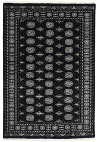 Pakistan Bokhara 3Ply Rug 167X247 Authentic Oriental Handknotted Black/Dark Grey (Wool, Pakistan)