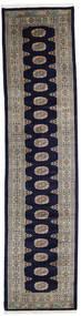 Pakistan Bokhara 3Ply Matta 80X338 Äkta Orientalisk Handknuten Hallmatta (Ull, Pakistan)