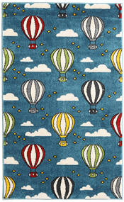 Balloons Rug 100X160 Modern Dark Blue/Blue ( Turkey)