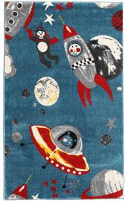 Astronauts Dywan 100X160 Nowoczesny Ciemnoniebieski/Niebieski ( Turcja)
